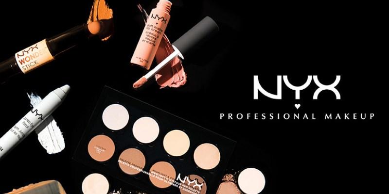 在美國網站購買NYX Cosmetics多樣產品心得