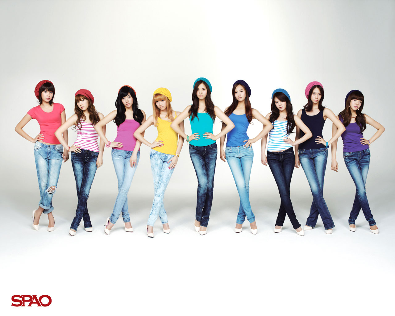 Cute Girly Summer Wallpapers Snsd Amp Super Junior Spao Wallpapers