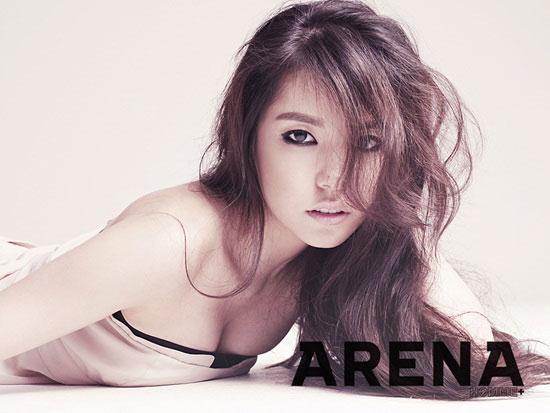 Korean actress Min Hyo-rin on Arena magazine