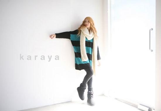 KARA Gyuri for Karaya fashion