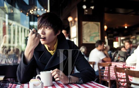 Lee Min-ho in New York