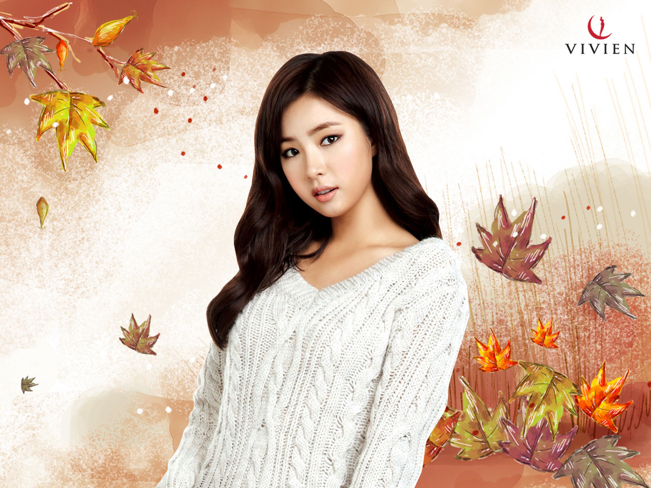 Shin Se-kyung Christmas wallpaper