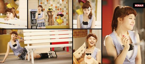 Girl's Day member Minah