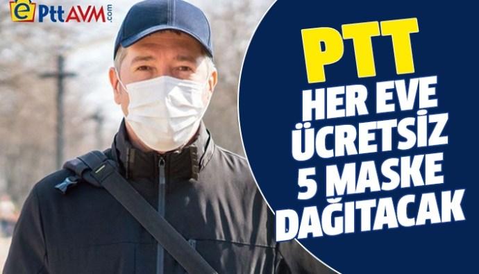 PTT ucretsiz maske