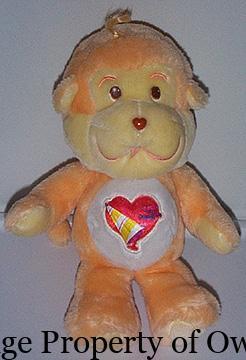 Playful Heart Monkey- thetoyarchive.com