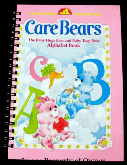 Care Bears ABC book- author unknown
