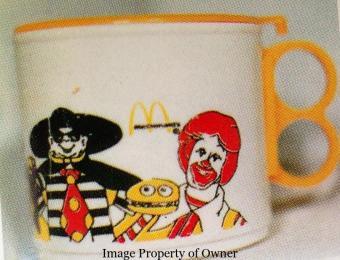 McDonaldland covered cup