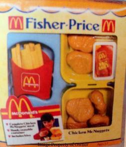 Fisher Price Chicken McNuggets