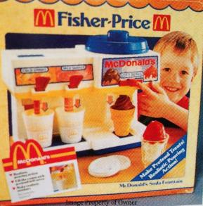 Fisher Price Soda Fountain