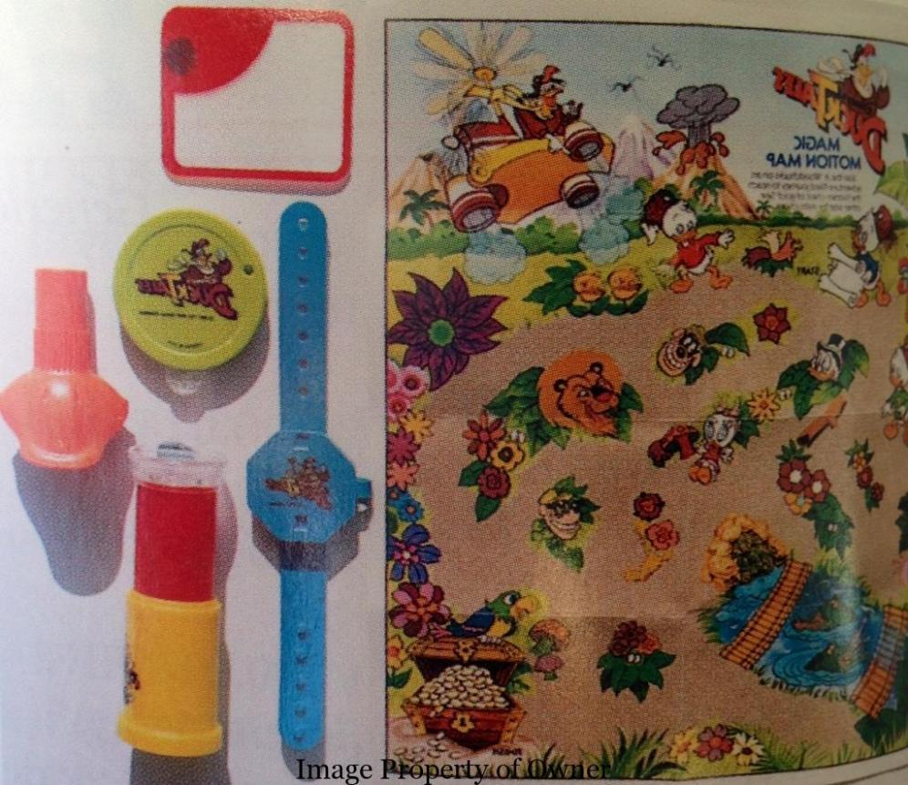 Duck Tales Spy toys