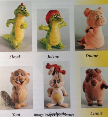 Kissyfur figures