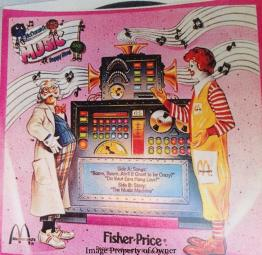 Fisher Price LPs- pink record