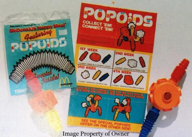 Popoids Happy Meal toys
