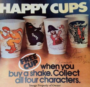 Happy Cups 4 set