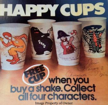 Happy Cups 4 set