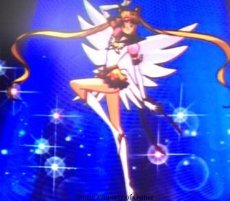 Eternal Sailor Moon makeup stance