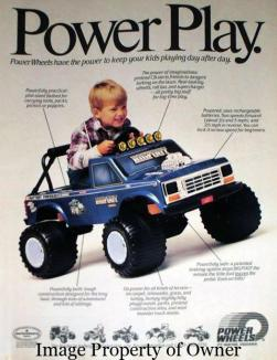 Powerwheels bigFoot - modifiedpowerwheels.com