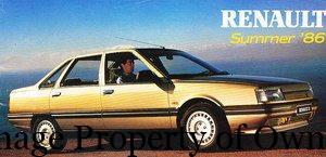 Renault 1986 - productioncars
