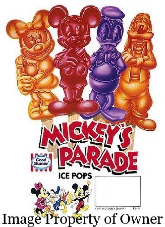 mickeys parade ice pops