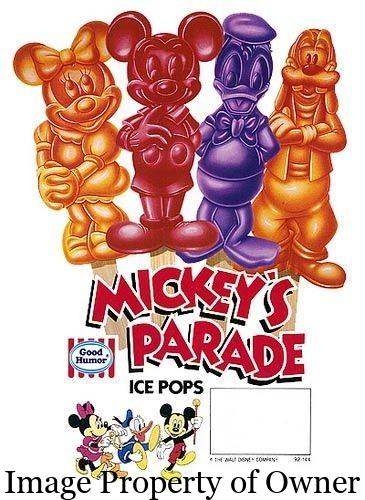 mickeys parade ice pops
