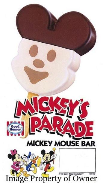 mickeys parade mickey mouse bar