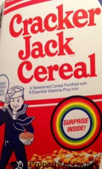 Cracker Jack Cereal author unknown