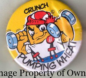 Crunch Weet premium button author unknown