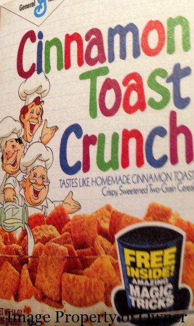 General Mills Cinnamon Toast Crunch author unknown
