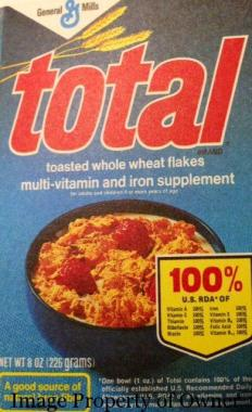 General Mills Total author unknown