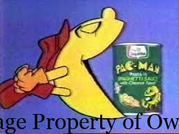 Pacman pasta Author unknown