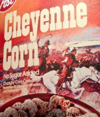 Post Cheyenne Corn author unknown