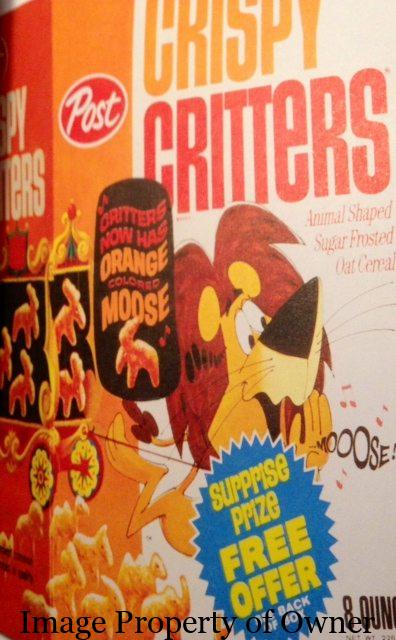 Post Crispy Critters author unknown
