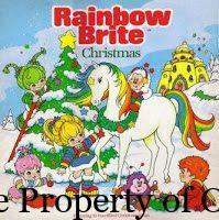 Rainbow Brite Christmas Book - author unknown
