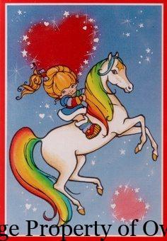 Rainbow Brite and Starlight author unknown