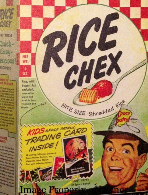Ralston Rice Chex author unknown