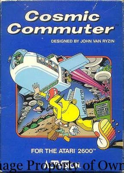 ATARI Cosmic Commuter - creyno88