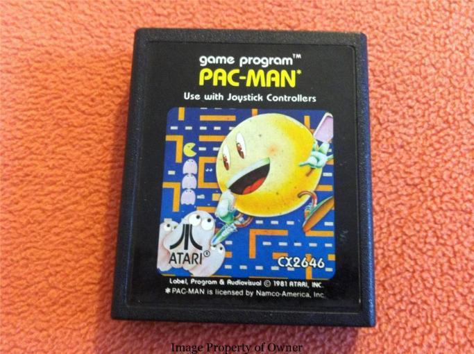 Atari 2600 Pac-Man property carltonfactory