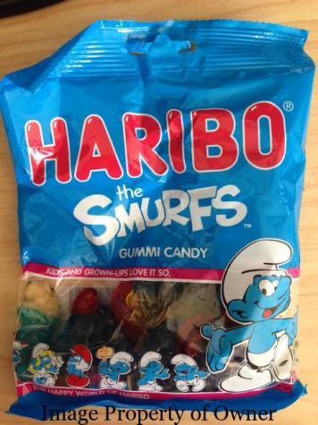 Haribo Gummi Smurfs