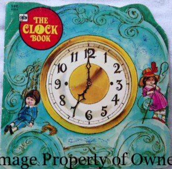 I really liked the Clock book for its kind of funky illustrations Yello80s.com