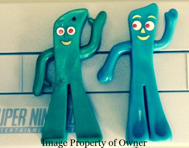 Gumby (s) courtesy Too Groovy
