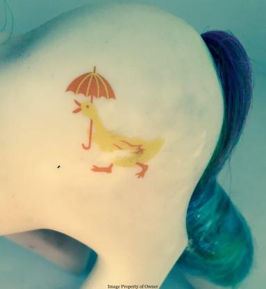 Quackers cutie mark