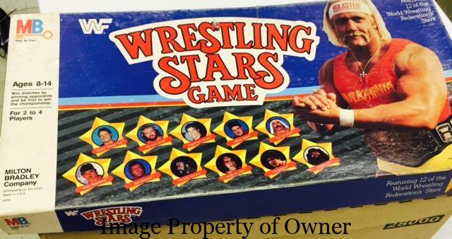 I caught Wrestling Stars as Warp Zone was packing up.
