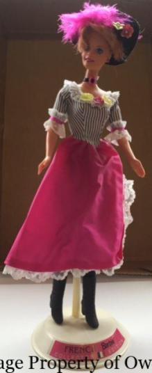 French Barbie
