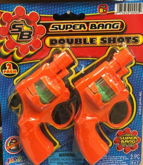 Actual cap guns