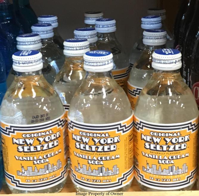 NY Seltzer Cream soda