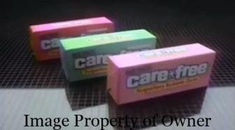 Carefree sugarless gum