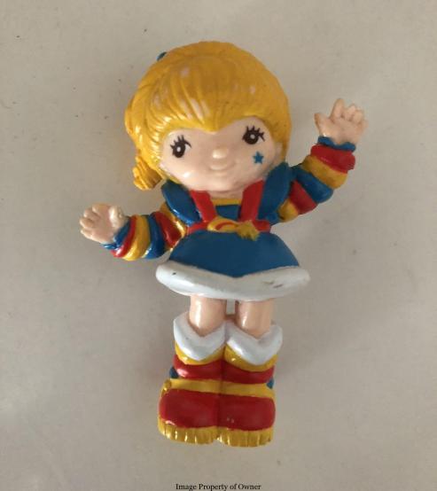 Rainbow Brite PVC mini