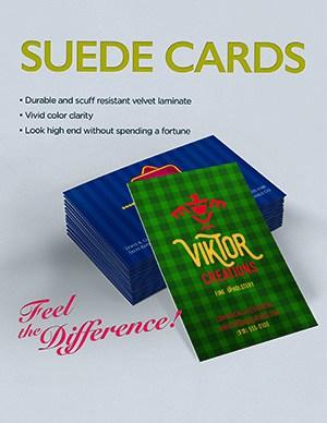 Velvet Suede Cards Miami