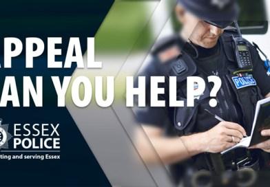 Essex Police seeks men who crashed into 10 vehicles in haphazard getaway
