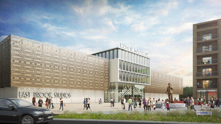 Council in pledge to fund building of Dagenham film studios